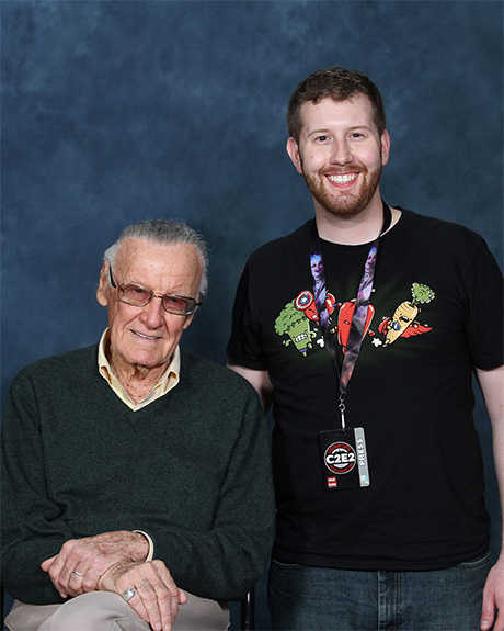 Me and my pal Stan Lee